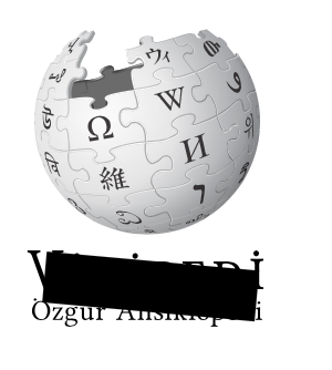 Wikipedia Turkey logo