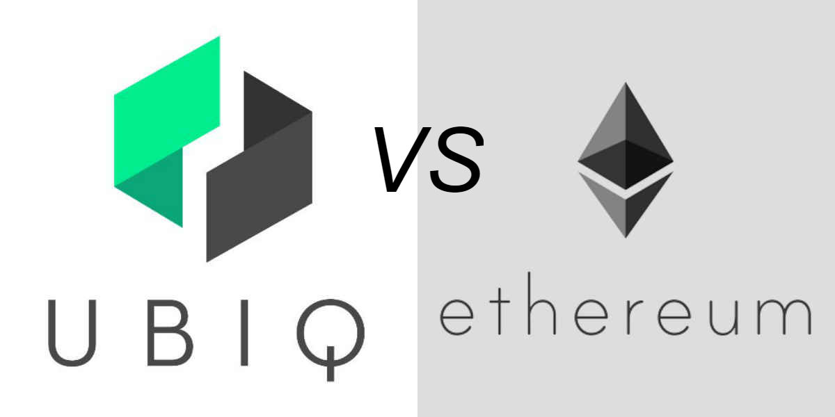 Ethereum vs Ubiq