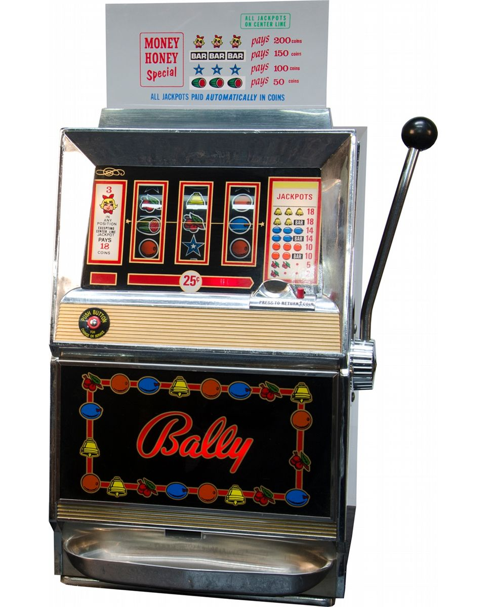 Bally electronic machine